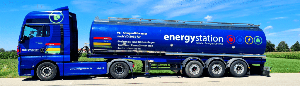 Mobile Wasseraufbereitungsanlage mieten