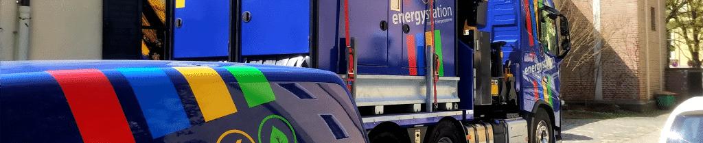 mobile Stromversorgung Energiezentrale und Notstromaggregat mieten