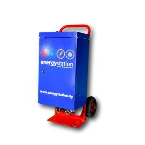 mobile Elektroheizung für die Miete