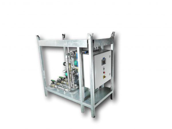 mobile Frischwasserstation für die Vermietung