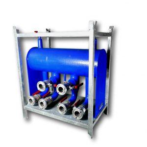 mobile hydraulische Weiche
