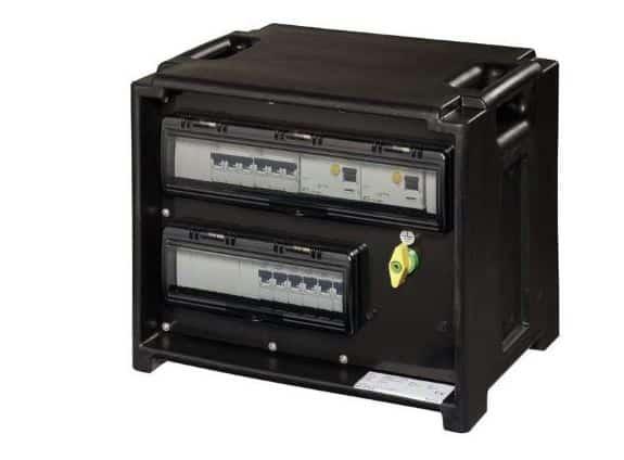 Stromverteiler Vermietung