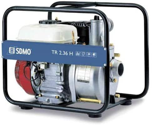Motorpumpe für Schmutzwasser mieten